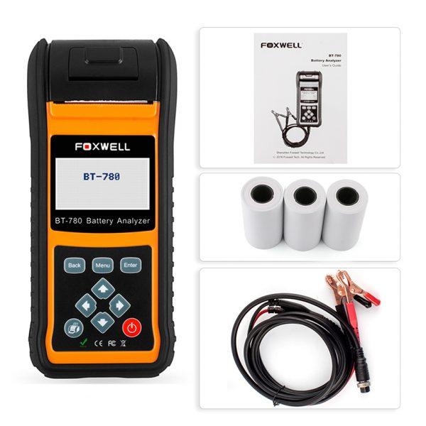 FOXWELL-BT780-12-V-24-V-Automobile-Testeur-de-Batterie-De-Voiture-AGM-GEL-RASE-Batteries